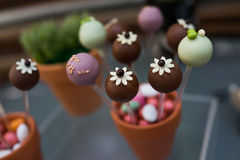 Cake pops Stock Photo