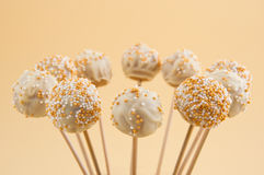 Cake pops Royalty Free Stock Photo