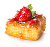 Cake of puff pastry Royalty Free Stock Photos