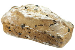 Cake with raisin Royalty Free Stock Image