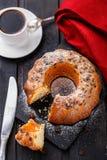 Cake with raisin Stock Photo