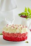 Cake Red Velvet Royalty Free Stock Photography