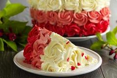 Cake Red Velvet Royalty Free Stock Photo