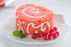 Cake Red Velvet Royalty Free Stock Photography