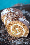 Cake roll Royalty Free Stock Photo