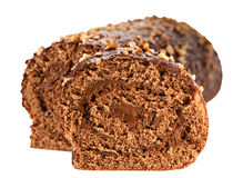 Cake roll Royalty Free Stock Image