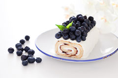 Cake roll Royalty Free Stock Images