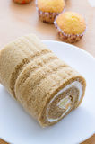 Cake roll Stock Photography