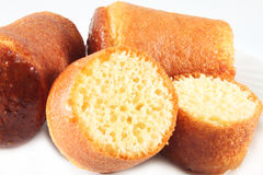 Cake Rum Baba Stock Photography
