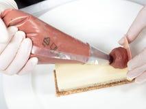 Cake's preparation Stock Photo
