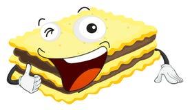 Cake sandwich Stock Photo