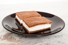 Cake sandwich Stock Photography