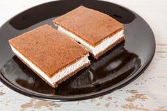 Cake sandwich Royalty Free Stock Photo