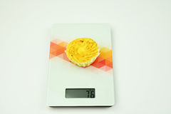 A cake the scales Stock Photo
