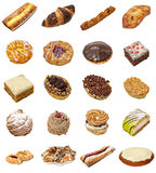 Cake selection Royalty Free Stock Images