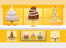 Cake shop Stock Photography