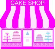 Cake Shop (Vector) Stock Photography