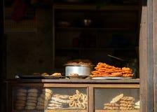 Cake shop in Kathmandu Stock Photography