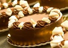 Cake Silouetthe Stock Image