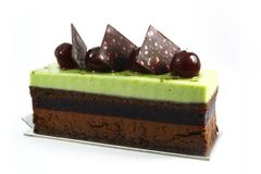 Cake slice Stock Image