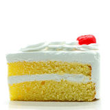 Cake slice isolated Royalty Free Stock Photography