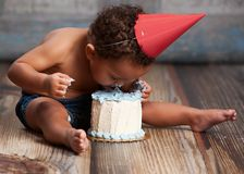 Free Cake Smash! Stock Images - 51811014