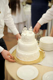 Cake with Snowmen Royalty Free Stock Photos