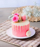 Cake for a special occasion Stock Photos