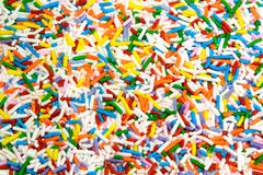 Cake Sprinkles Royalty Free Stock Photography
