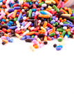 Cake Sprinkles Background Stock Photography