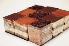 Cake. The cake,Square lattice cake royalty free stock image