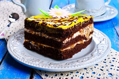 Cake square Stock Images