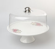 Cake stand or dessert stand on a backgeound. Cake stand or dessert stand on a backgeound royalty free stock image