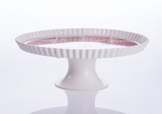 cake stand or dessert stand on a backgeound. Stock Photography
