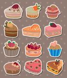 Cake stickers Stock Photo