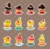 Cake stickers Stock Image