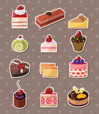 Cake stickers Royalty Free Stock Photography