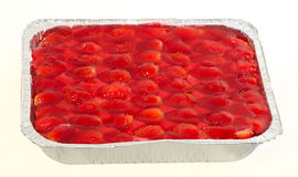 Cake strawberry Royalty Free Stock Images
