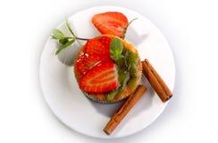 Cake - Strawberry Stock Photography