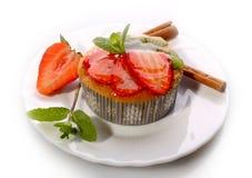 Cake - Strawberry Stock Images