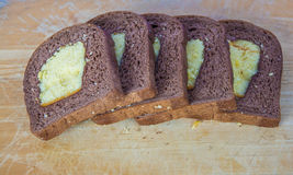 Cake stuff bread Stock Photography