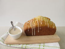 Cake with sugar frosting Stock Photo
