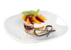 Cake.sweet Nachtisch Lizenzfreies Stockbild
