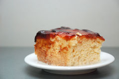 Cake with sweet syrup Stock Photography