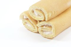 Cake Swiss Rolls Royalty Free Stock Image