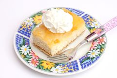 Cake of tangerines with cream Stock Photography