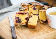 Cake and tea Stock Photo