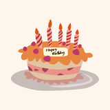 Cake theme elements vector,eps Stock Photos