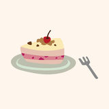 Cake theme elements vector,eps Stock Photo
