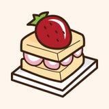 Cake theme elements vector,eps Royalty Free Stock Photo
